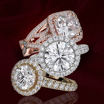 Michael M Engagement Rings