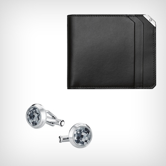 Montblanc Cufflinks and Wallet