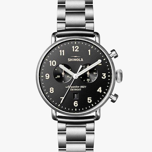 Shinola Chronograph Watch