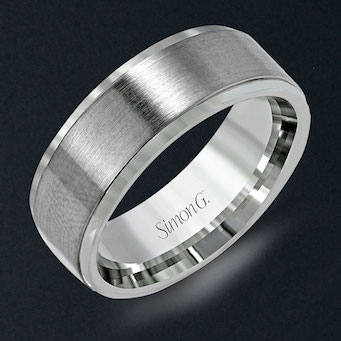 Simon G Mens Wedding Band