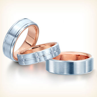 Verragio Mens Wedding Bands