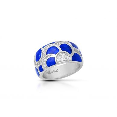 Adina Lapis Lazuli and Cubic Zirconia Ring 01-03-18-2-01-03