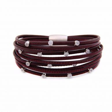 Henderson Collection LBB291-14 Luca Leather Bracelet
