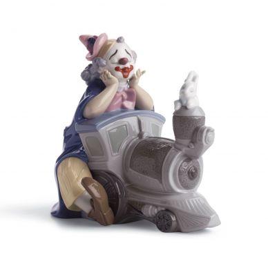 Lladro 01008138 Circus Express Clown Figurine