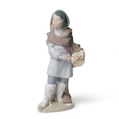 Lladro 01008415 Drummer Boy Nativity Figurine