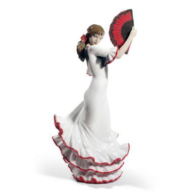 Lladro 01008683 Passion and Soul Flamenco Woman Figurine