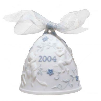 Lladro 01016737 2004 Christmas Bell