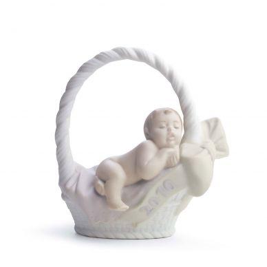 Lladro 01018343 Born In 2010 Girl Figurine