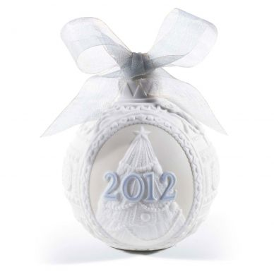 Lladro 01018356 2012 Christmas Ball