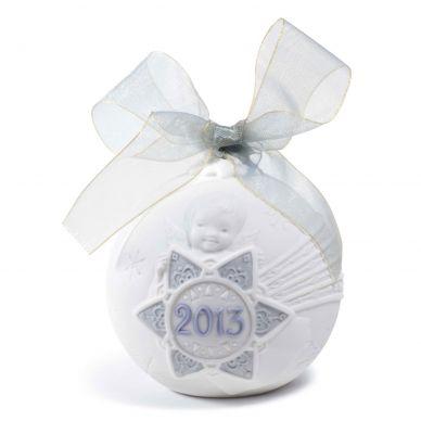 Lladro 01018374 2013 Christmas Ball