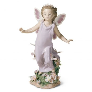 Lladro 1006875 Butterfly Wings Fairy Figurine