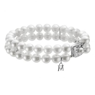 Mikimoto 6.5 mm Akoya Cultured Pearl Multi-Strand Bracelet UD70107D1W