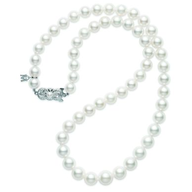 Mikimoto 7mm-9mm Akoya Cultured Pearl Strand Necklace G90118V1W