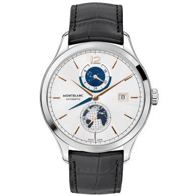 Montblanc Heritage Chronométrie Automatic Dual Time Mens Watch 113779