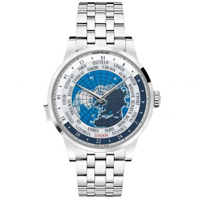 Montblanc Heritage Spirit Automatic World Time Mens Watch 112309