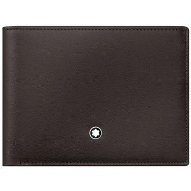 Montblanc Meisterstück Brown Leather 6 Card Holder Wallet 114541