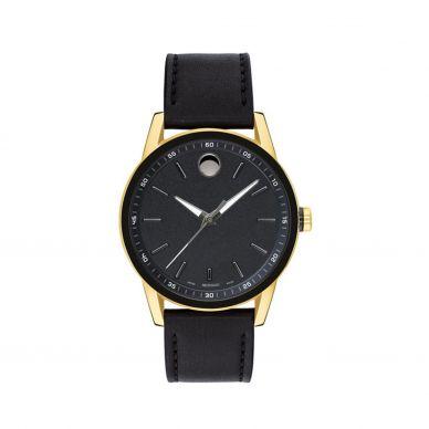 Movado Mens 40mm blue dial watch