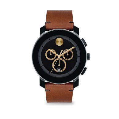 Moved 3650008 Heritage Series Calendoplan Mens 43mm Watch