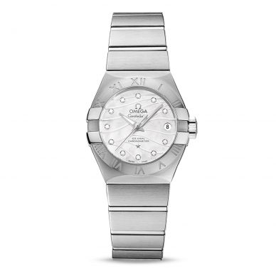 Omega Constellation Automatic Diamond Womens Watch 123.10.27.20.55.002