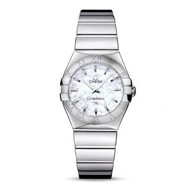 Omega Constellation Quartz Womens Watch 123.10.27.60.05.002
