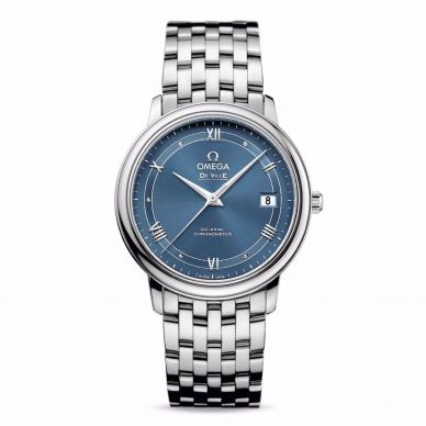 Omega 431.33.41.21.03.001 Hour Vision Blue Dial Mens Watch