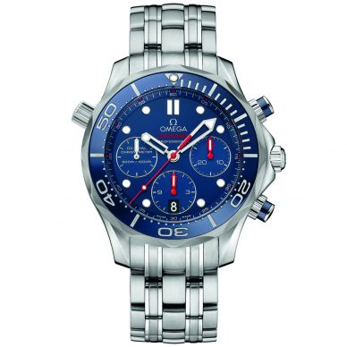 Omega Seamaster 300M Diver Automatic Chronograph Mens Watch 212.30.42.50.03.001