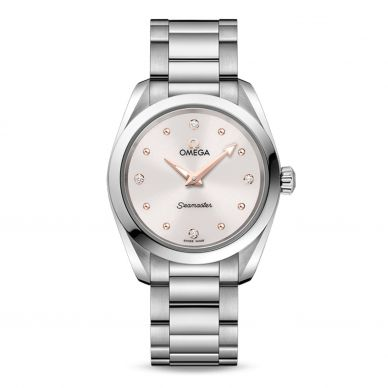 22010286051001 Omega Seamaster Diamond Womens Watch