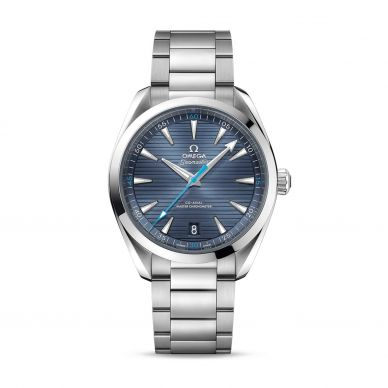 Omega Seamaster Blue Strap Watch 220.12.41.21.03.002