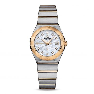 Omega Constellation Quartz Womens Watch 123.20.27.60.05.003