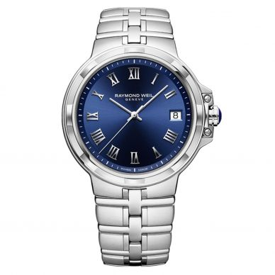 5580-ST-00508 Parsifal Stainless Steel Blue Dial Mens Watch