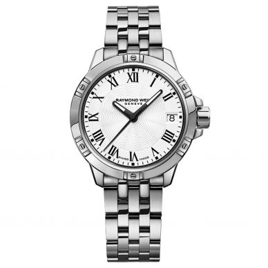 5960-ST-00300 Tango White Dial Stainless Steel Womens Watch