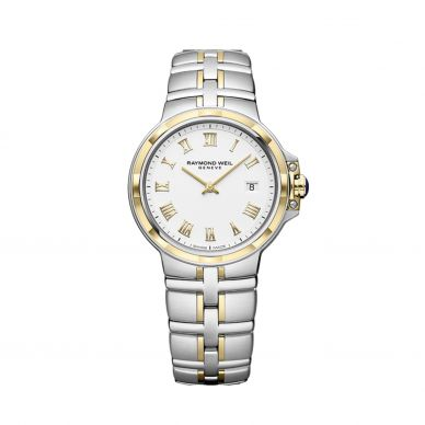5180-STP-00308 Parsifal Stainless Steel and Gold Womens Watch
