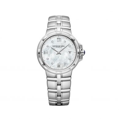 5180-ST-00995 Parsifal Mother of Pearl and Diamond Womens Watch