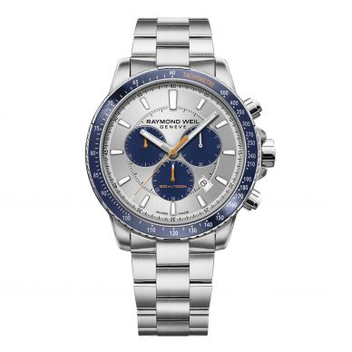 8570-ST3-65501 Tango Blue Two-Tone Chronograph Men's Watch