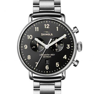 Shinola The Canfield Quartz Chronograph Mens Watch 20018334