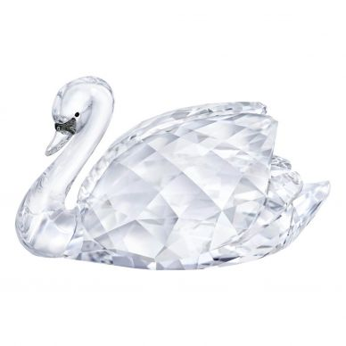 5400172 Large Swan Crystal Decoration