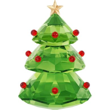 5223606 Green Christmas Tree Crystal Decoration