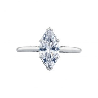Tacori 2650MQ Simply Tacori White Gold Marquise Engagement Ring