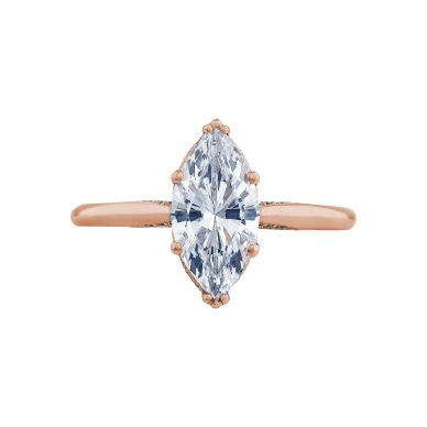 Tacori 2650MQ12X6-PK Simply Tacori Rose Gold Marquise Engagement Ring