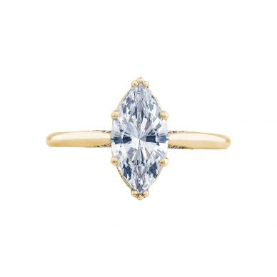 Tacori 2650MQ12X6-Y Simply Tacori Yellow Gold Marquise Engagement Ring