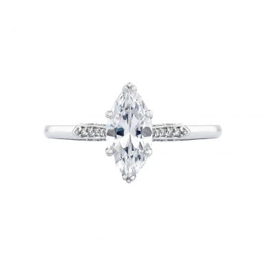 Tacori 2651MQ Simply Tacori White Gold Marquise Engagement Ring