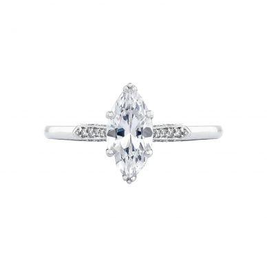 Tacori 2651MQ10X5 Simply Tacori Platinum Marquise Engagement Ring