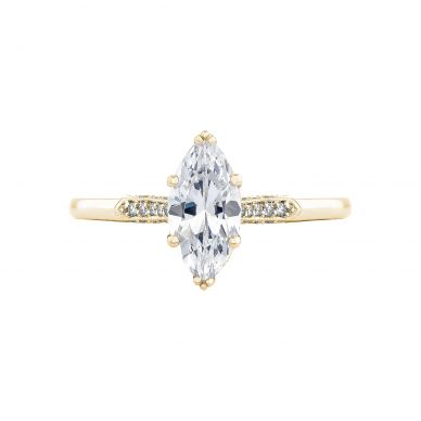 Tacori 2651MQ10X5-Y Simply Tacori Yellow Gold Marquise Engagement Ring