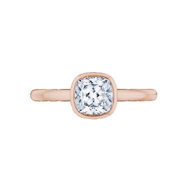 Tacori 300-2CU-6PK Starlit Rose Gold Cushion Cut Engagement Ring