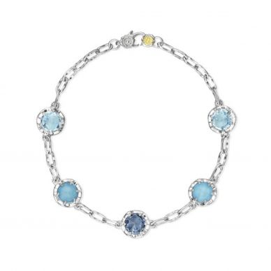 SB20202 Sonoma Skies Silver Sky Blue Topaz Unique Bracelet for Women