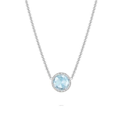 Sky Blue Topaz Necklace SN15302