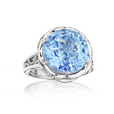 Tacori Swiss Blue Topaz Ring