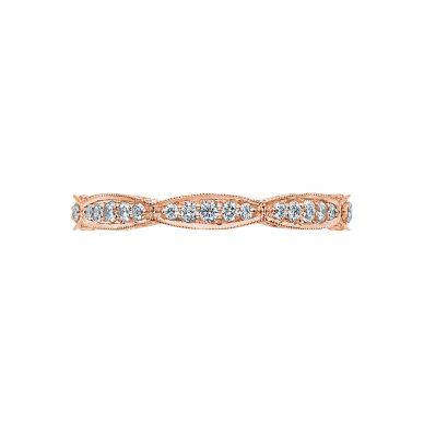 Tacori HT2604B Rose Gold Wedding Ring for Women