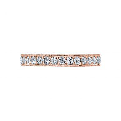 Tacori HT2605B Rose Gold Wedding Ring for Women