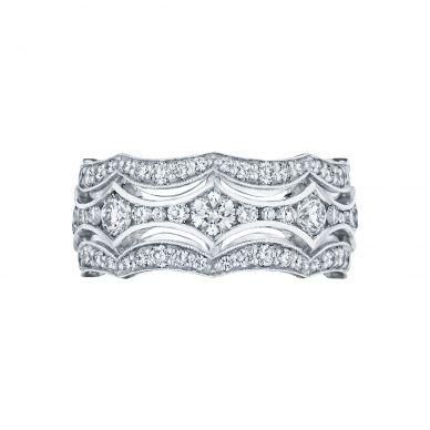 Tacori HT2621B12 Platinum Wedding Ring for Women
